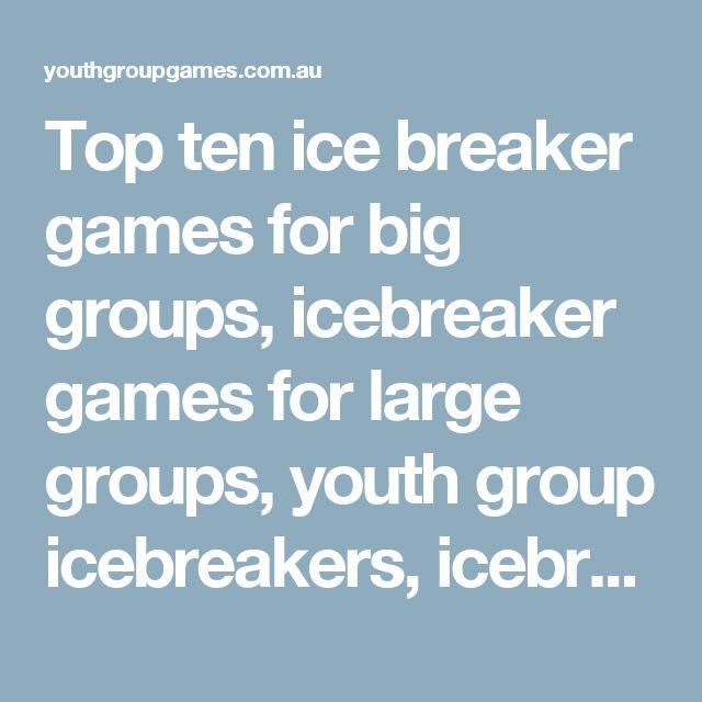 Printable Ice Breaker Games For Kids