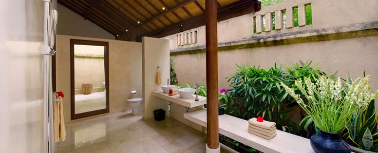 17 best images about bali architecture interior on for Balinese bathroom design