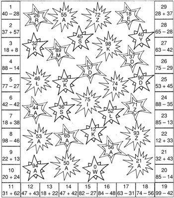 Karnawałowe zadania matematyczne