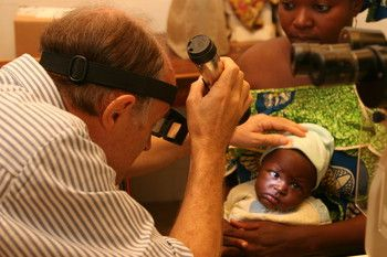 """""""80% of our patients travel over 70 miles to reach the #eye hospital. Many come much further than this,"""" says Dr. Andrew Potter, cbm Benin.  """"Pray the cost of travel wouldn't prevent some from accessing the help they desperately need."""""""