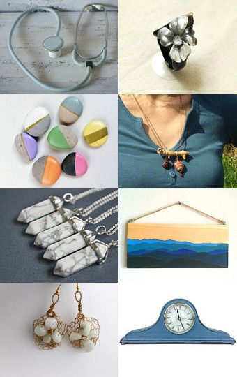 Blue Mountains by Christina Sova on Etsy--Pinned with TreasuryPin.com
