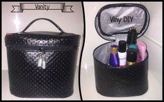 Patron gratuit : le vanity de Viny Ce vanity est super pratique ! Really useful vanity case !