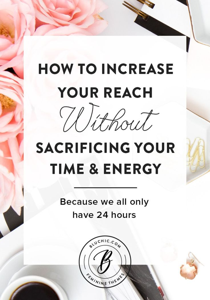 We share how you can increase your reach without sacrificing more time or energy because as small business owners, we all only have 24 hours and want to spend our time wisely.