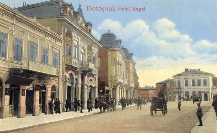 Botosani - Hotel Regal - antebelica