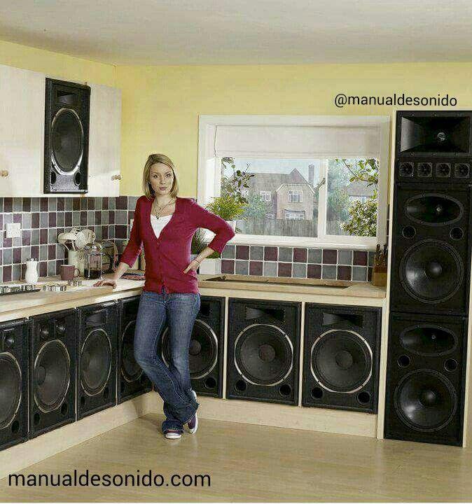 La cocina del bajista de la banda.  #ManualDeSonido @manualdesonido