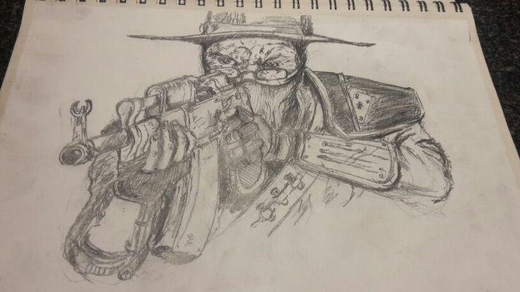 Gunner #WW #Sketch