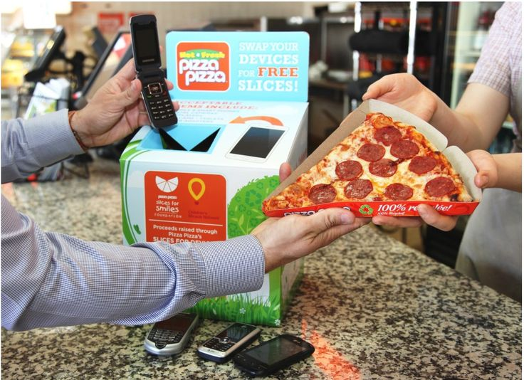 Pizza Pizza Canada Slice for Device Promotions: Recycle an Old Device Get a Free Slice! http://www.lavahotdeals.com/ca/cheap/pizza-pizza-canada-slice-device-promotions-recycle-device/185001?utm_source=pinterest&utm_medium=rss&utm_campaign=at_lavahotdeals