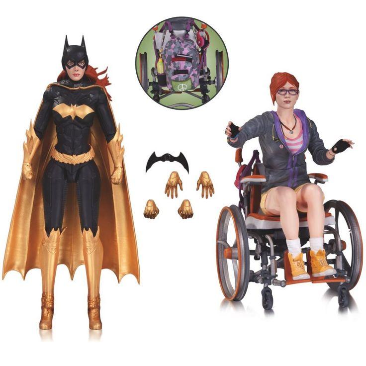 Pack de 2 Figurines des formes connues de Barbara Gordon : Batgirl et Oracle !
