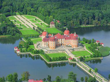 Schlosspark | Barockschloss Moritzburg