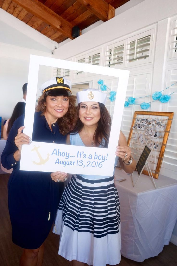 nautical baby shower photo op                                                                                                                                                                                 More