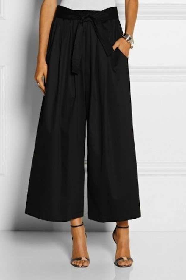 Tendencias Invierno 2015 pantalones anchos cortos: fotos de los modelos (23/40)   Ellahoy