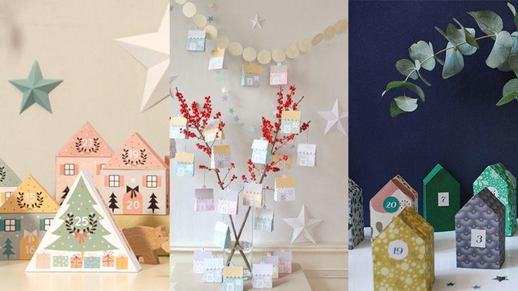 PART 1 / 2 – Sélection de jolis calendriers de l'avent DIY (pour enfants ingrats qui n'aiment pas le chocolat) --- Article by Catarinette on www.catarinette.com