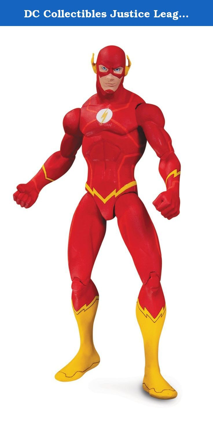 DC Collectibles Justice League War: Flash Action Figure. Inspired by the animated movie, Justice League War comes this Flash action figure. The Flash stands about 6 3/4-inches tall and features him in his red suit and yellow boots outfit. The Justice League War Flash action figure features multiple points of articulation and comes in blister card packaging. Ages 14 and up.