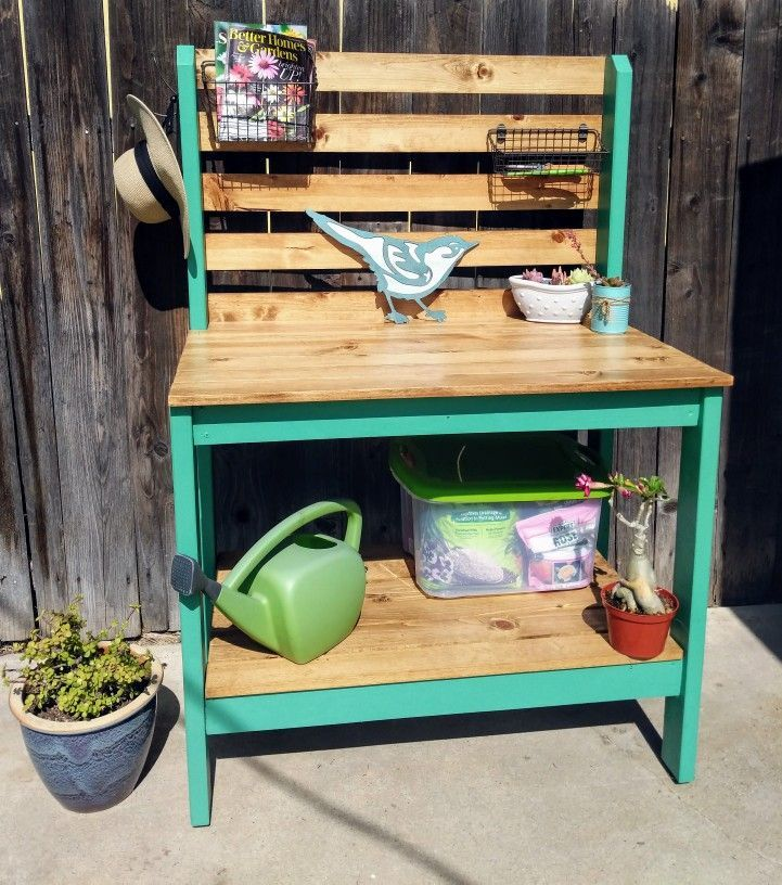 Potting Bench Easy Build From Ryobi Nation Ana White Plans And You Can Custo Ana White Plans Potting Bench Easy Build
