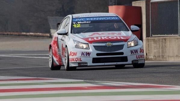 Yvan Muller @Ramona Schulz FIA WTCC