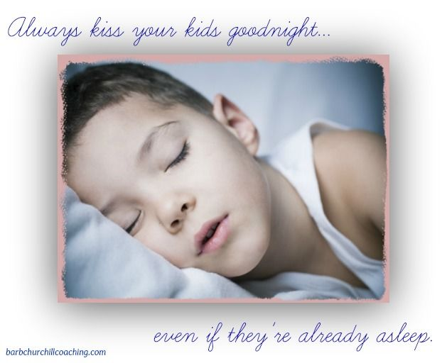 I do this more for me. There's something still so innocent about a sleeping child - no matter what their age.
