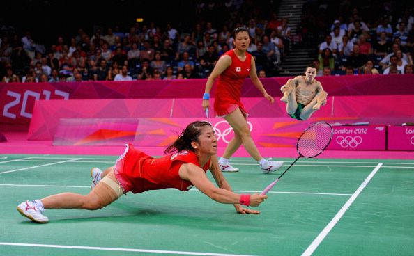 12. | 20 Photos Of Olympic Badminton Players Swatting Divers Like They're Flies
