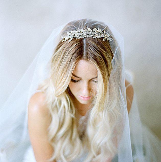 Lauren Conrad made such a beautiful bride! photo by Elizabeth Messina