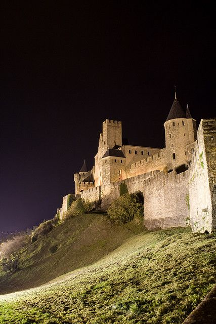 Carcassonne France - The largest medieval castle in Europe