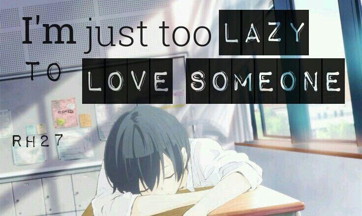 Quotes Anime   Anime: Tanaka-kun Wa Itsumo Kedaruge     #animequotes #quotesanime