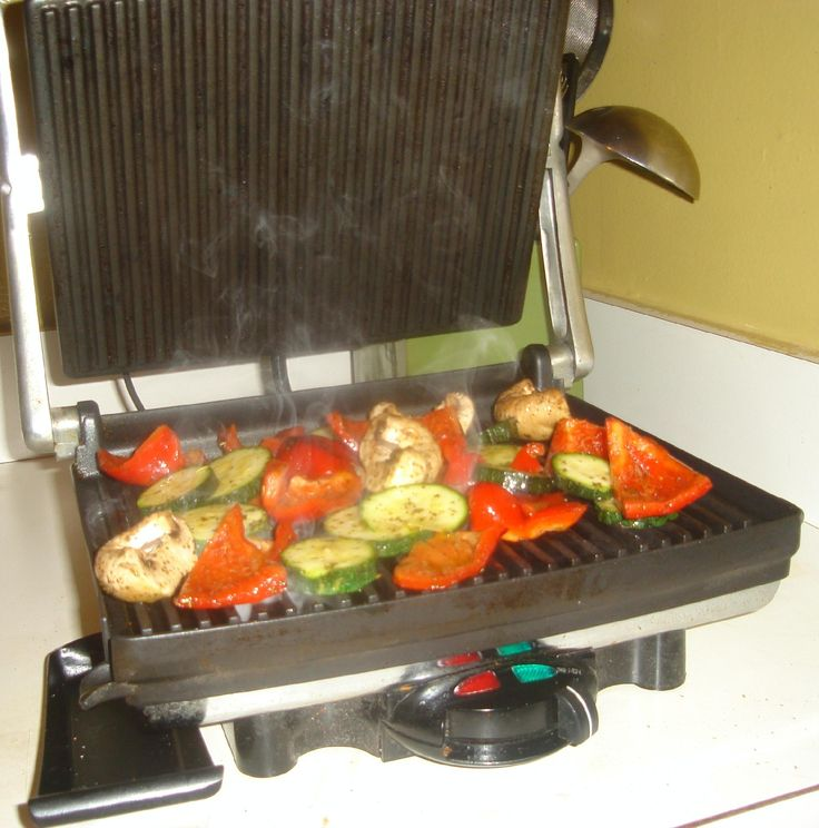 Grilling Vegetables on a Panini Grill