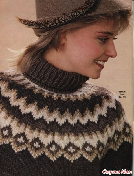 43 best Fair isle images on Pinterest | Backpacks, Patterns and ...