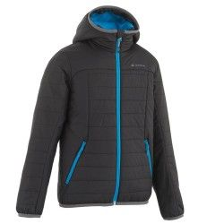 d9b1cc53b347 QUECHUA X-Light Boys  Padded Jacket - Black