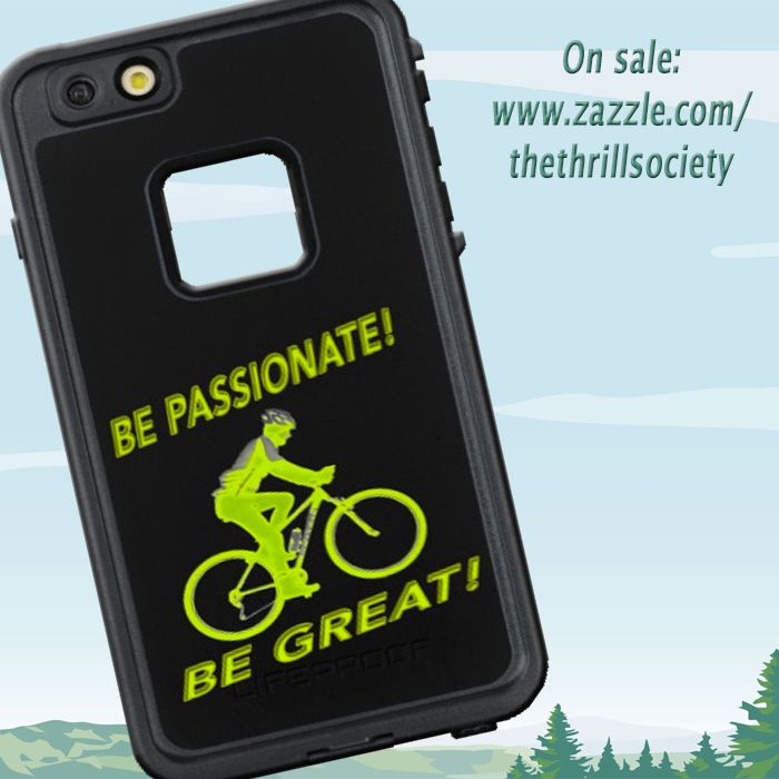 Be Passionate! Be Great! products for sale at: http://www.zazzle.com/tts_inspirational #inspire #inspirationalquotes #zippolighter #zippo #mtb #biker #mountainbiker