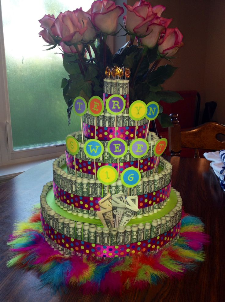 Money Cake Sweet 16 There Are How To Videos Youtube My