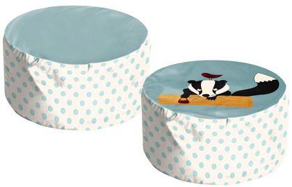 My friend the skunk ! #Oeko-Tex #safe #FLEXA #stylish #decorations #room #kids #designers #safematerials