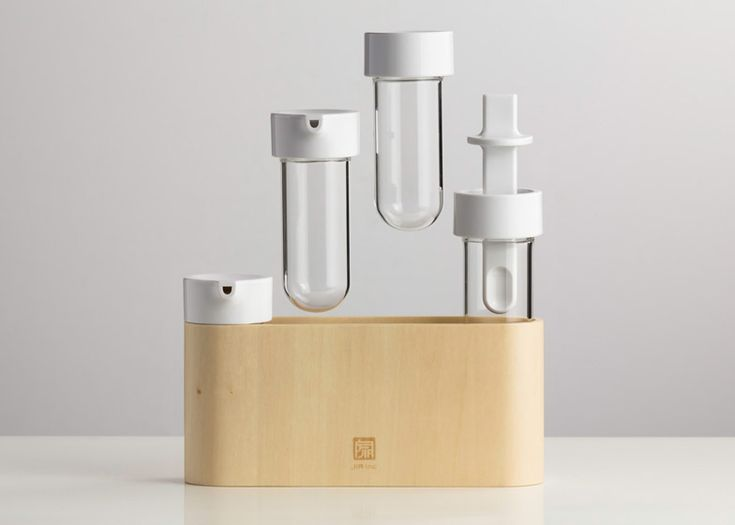 Taste Condiment Set creates visual consistency on the dining table