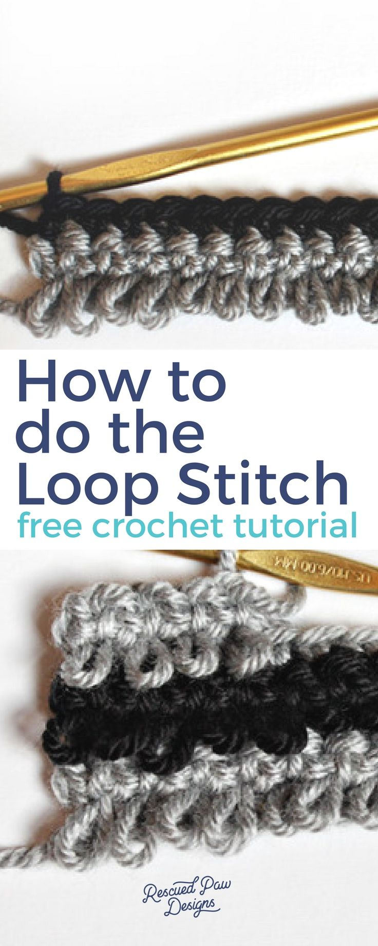 Learn How to do the Loop Stitch in Crochet!