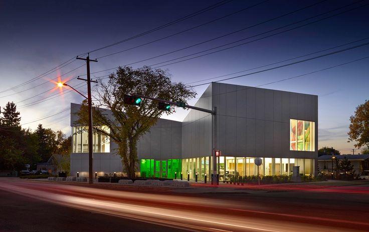 Highlands Branch Library in Edmonton by schmidt hammer lassen architects