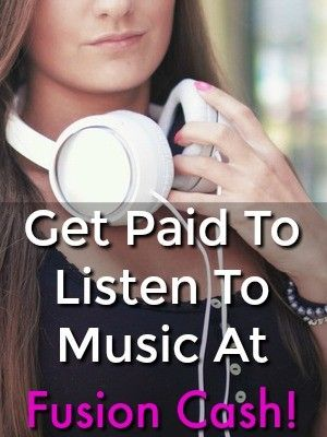 Did you know you could get paid to listen to music online? With Fusion Cash you can get paid cash via PayPal, Direct Deposit, or Check just for listening to the radio!