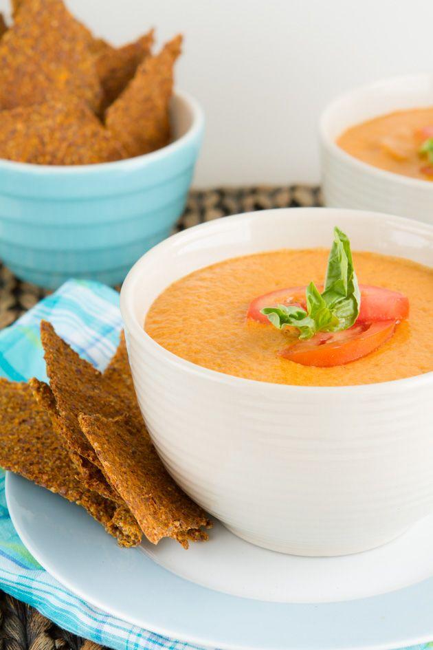5-Minute Vegan Cream of Tomato Soup