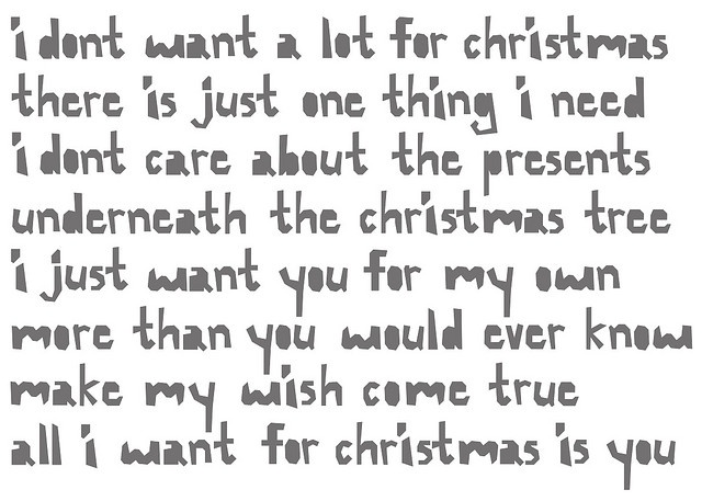 all i want for christmas is you lyrics mariah carey download - All I Want For Christmas Is You Mariah Carey Lyrics