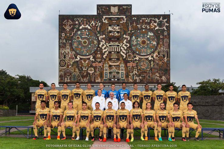 Foto Oficial de nuestros Pumas para la temporada 2016-2017.  #Pumas #UNAM