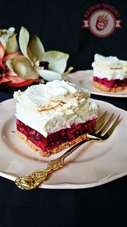Malinowe Pocałunki: ciasto
