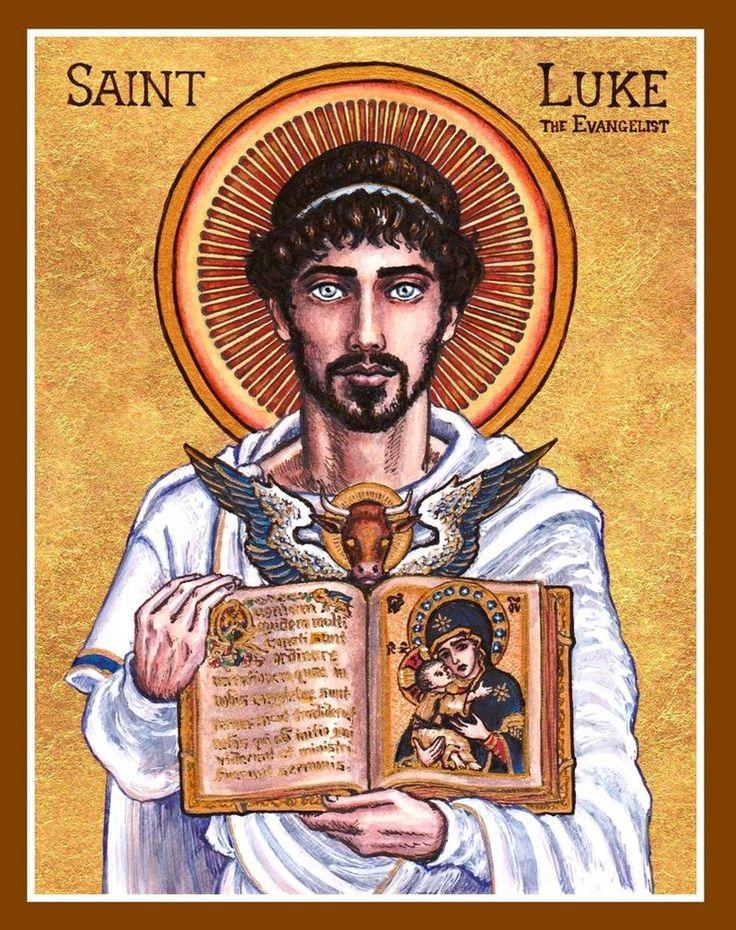St. Luke the Evangelist icon by ~Theophilia on deviantART