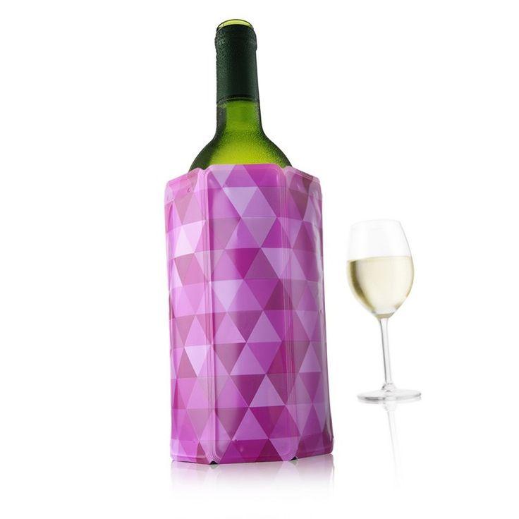 Rapid Ice Diamond, Χαμηλώνει ταχέως την θερμοκρασία του κρασιού και προσδίδει μια ευχάριστη οπτική νότα στο τραπέζι μας.