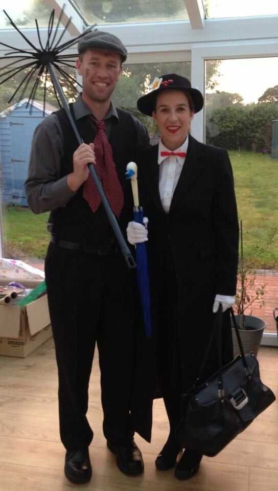 Mary poppins costume, world book day