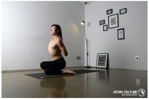 #GOMUKHASANA  #Ashtanga #Yoga of Mind with Seung Wook  2014.Truthyoga Academy  http://www.truthyoga.co.kr