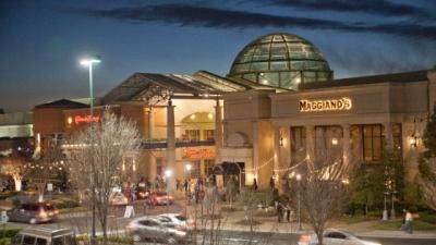 Shopping SouthPark Mall in Charlotte, North Carolina.