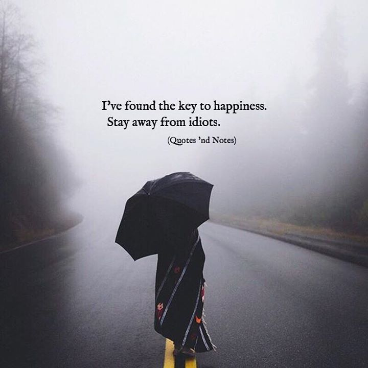 I've found the key to happiness. Stay away from idiots. via (http://ift.tt/2v7umor)