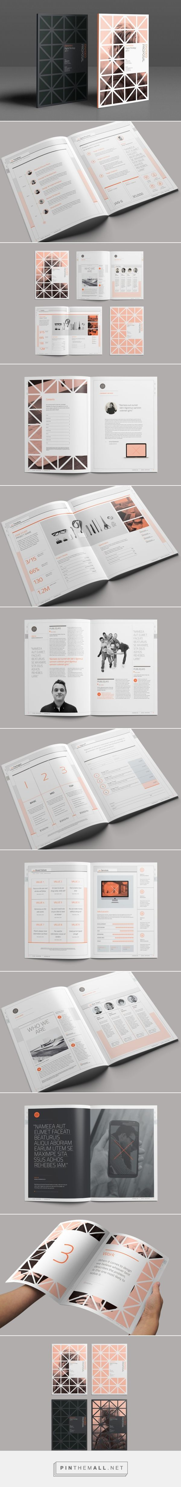 Divided Proposal on Behance