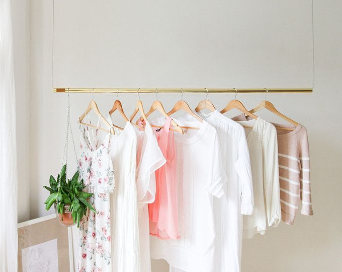 Best 25 hanging clothes racks ideas on pinterest - Burros para ropa ...