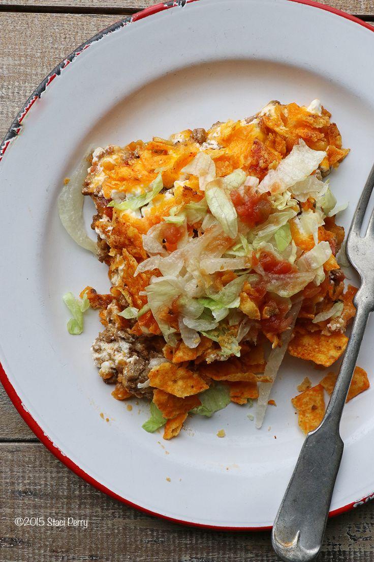 taco in a bag casserole
