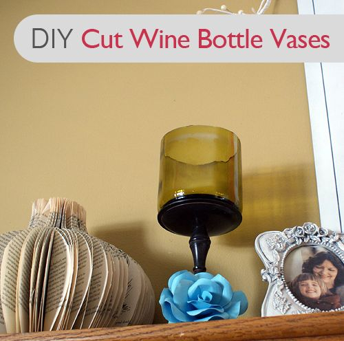 90 best wine bottles images on pinterest for Cutting glass with acetone