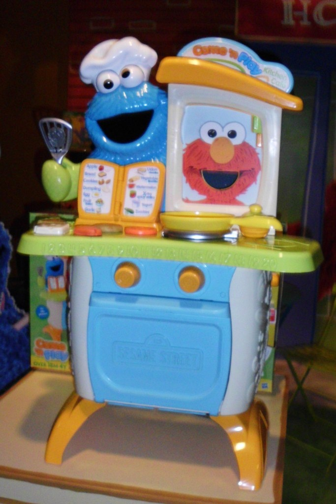 This Cookie Monster Stove Is Just Like The Big Bird One My