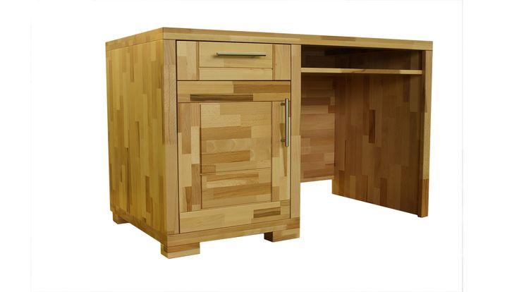 íróasztal-tömörfa-fa íróasztal